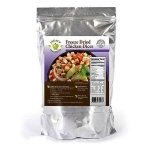 100% USDA Freeze Dried Diced Chicken Single Pouch