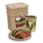 60 Serving Freeze Dried Meat Bucket + 20 Servings Rice Bonus