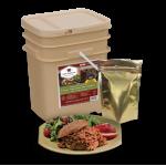 60 Serving Freeze Dried Meat Bucket + 20 Servings Rice Bonus