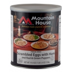 Mountain House Scrambled Eggs with Ham & Peppers #10 Can