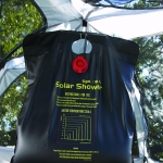 Solar Powered Camp Shower, 5 Gallon