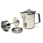 Stainless Steel Percolator, 9 Cups