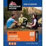 Mountain House Lasagna with Meat Sauce Entree